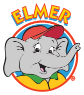 Elmer The Safety Elephant : Elmer l'éléphant prudent