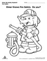 Elmer knows Fire Safety. Do you?