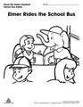 Elmer Rides the School Bus