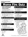 Home Fire Quiz *